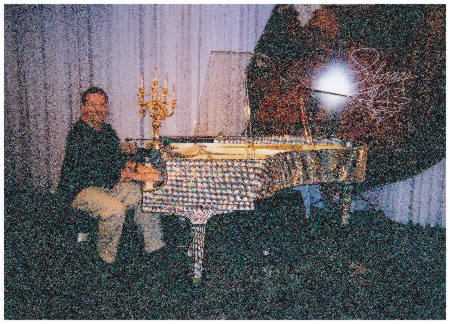 At Liberace's Piano
