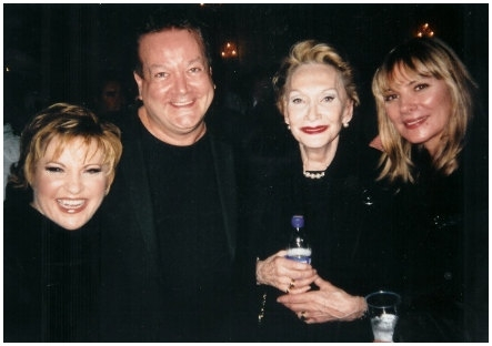 Lorna Luft, Sian Philips and Kim Cattrall